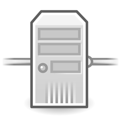 icono de un servidor dns