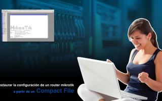 portada de Importar un compact File