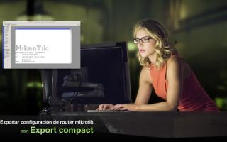 portada de Exportar un compact file