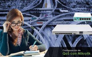 portada de QoS para cliente final