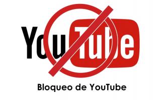 portada de Bloqueo de YouTube