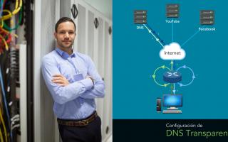 portada de DNS transparente