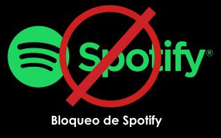 portada de Bloqueo de Spotify