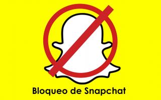 portada de Bloqueo de Snapchat