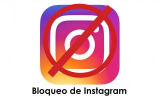 portada de Bloqueo de Instagram
