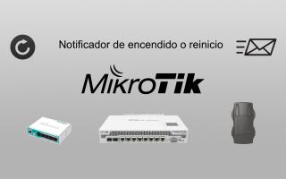 portada de Notificador de encendido y reinicio de router