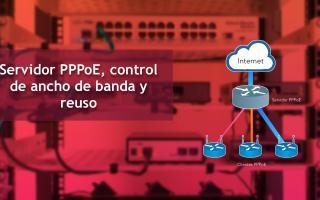 portada de Servidor PPPoE con control de ancho de banda