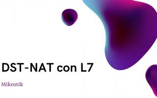 portada de Configuración para hacer DST-NAT usando Layer7