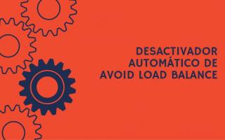 portada de Desactivador automático de Avoid Load Balance